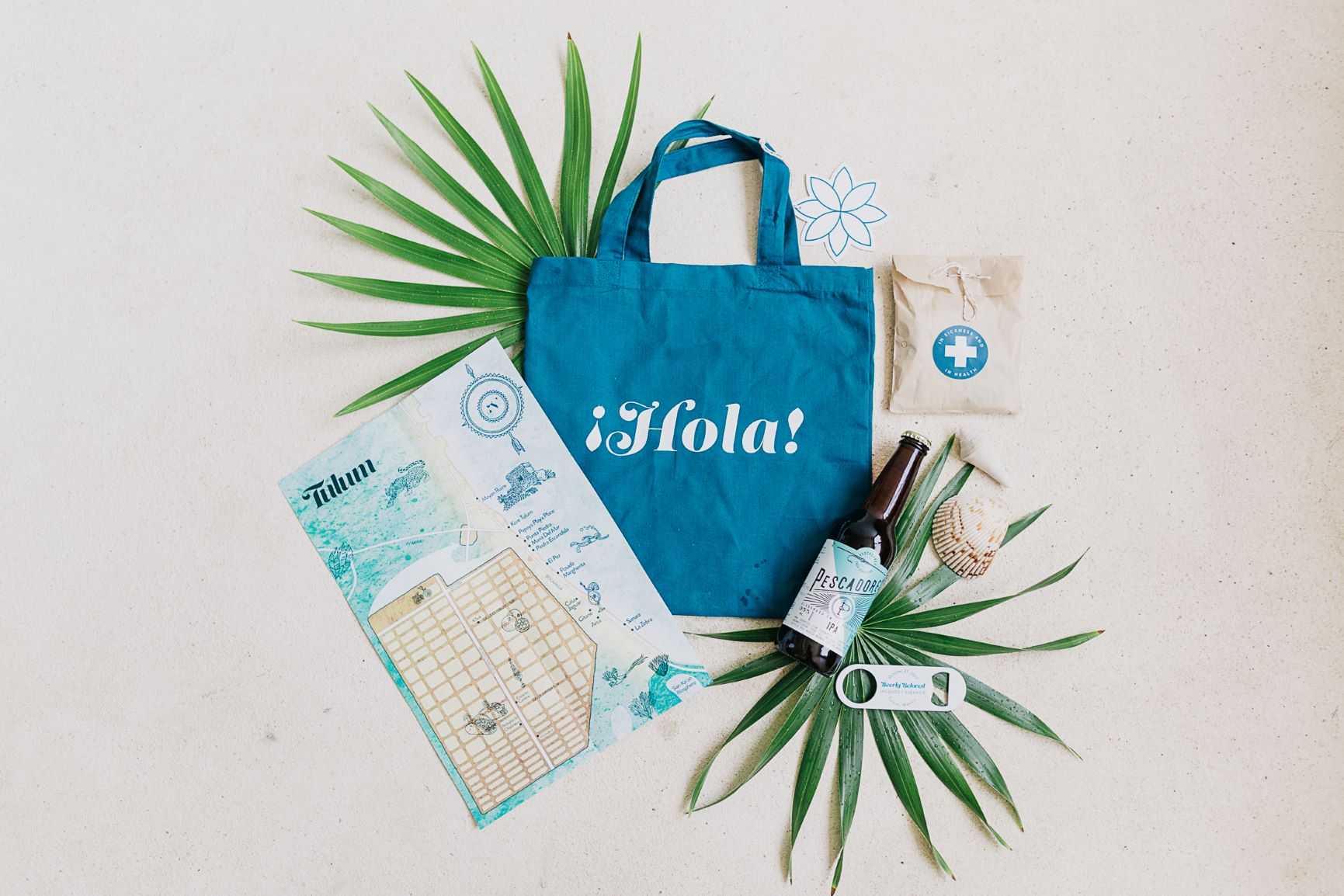 Destination Welcome Bags
