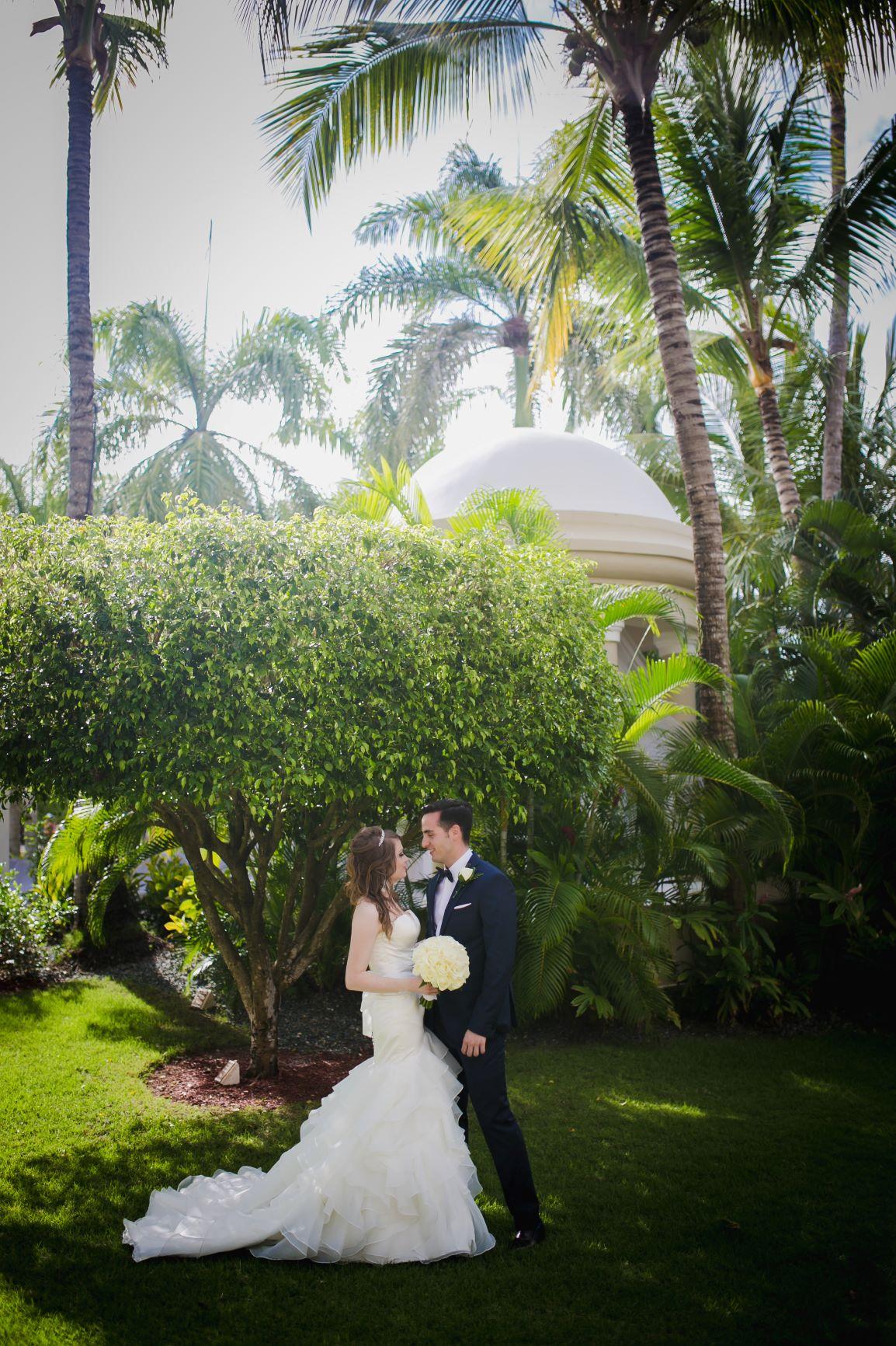 Dreams Palm Beach Wedding