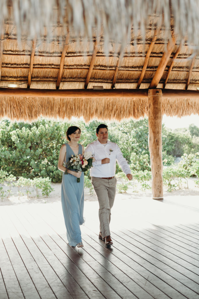 private wedding location mexico at Finest Playa Mujeres
