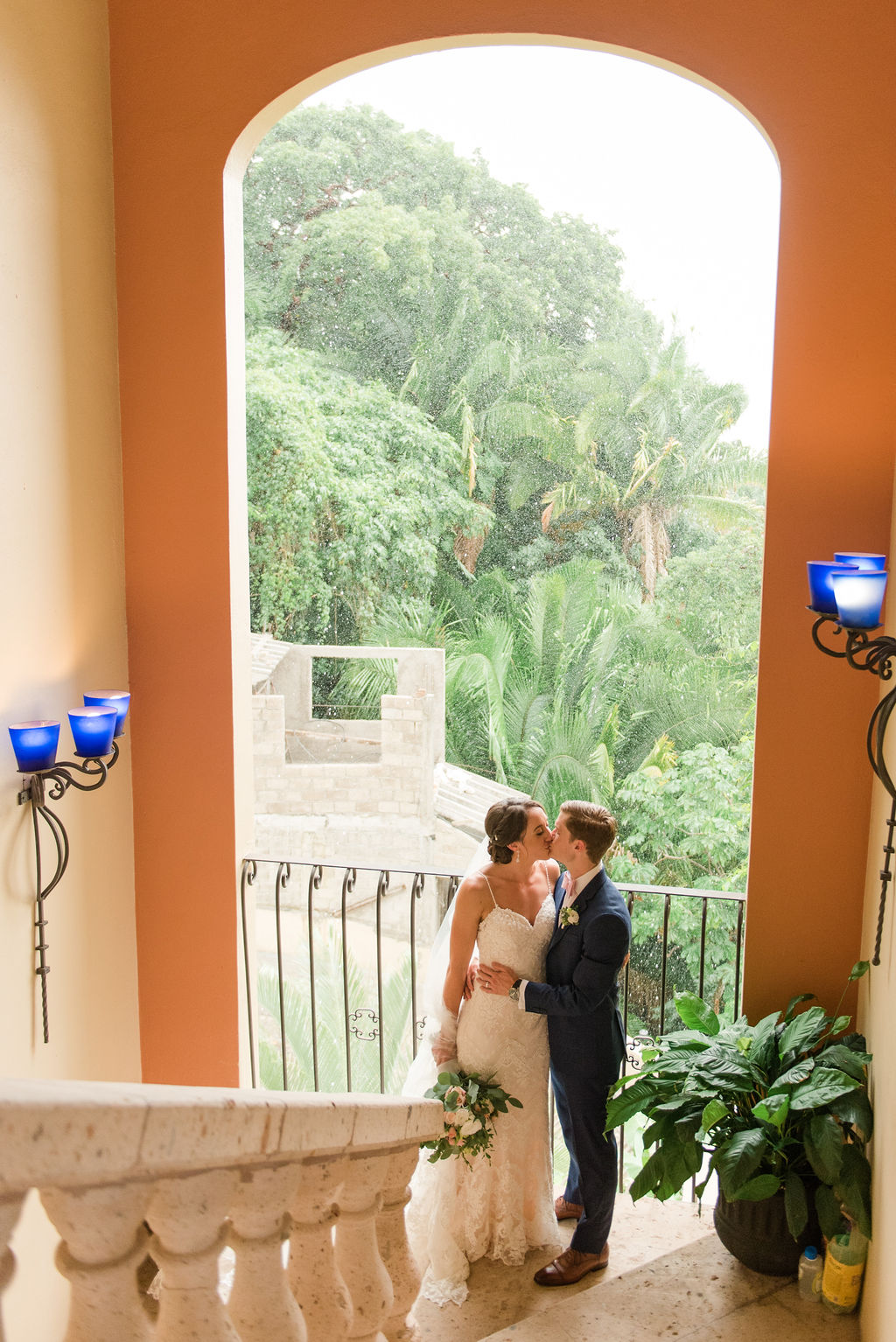 Wedding in Puerto Vallarta at private villa