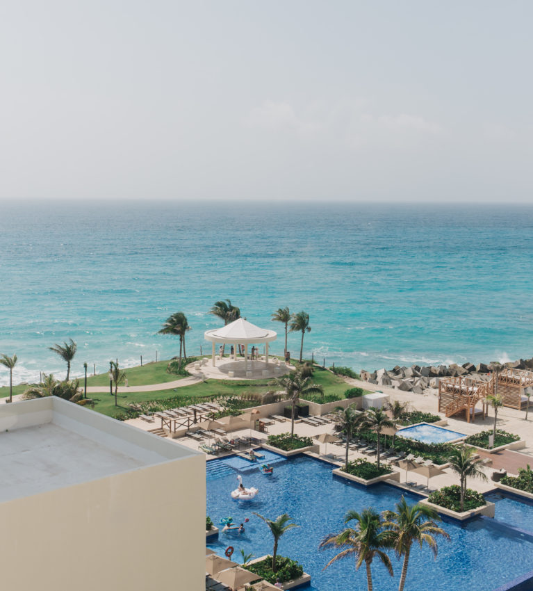 hyatt ziva cancun hotel wedding