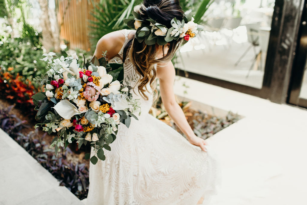 wedding florist cancun